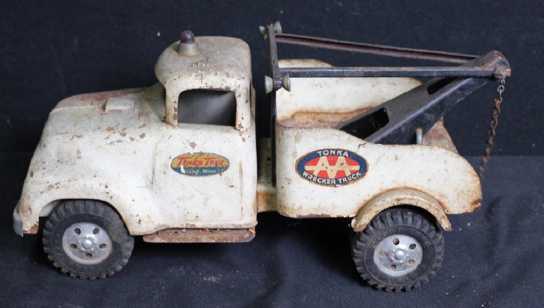 7 Vintage Metal Trucks - 7