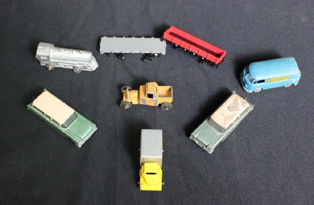 6 Vintage Metal Vehicles