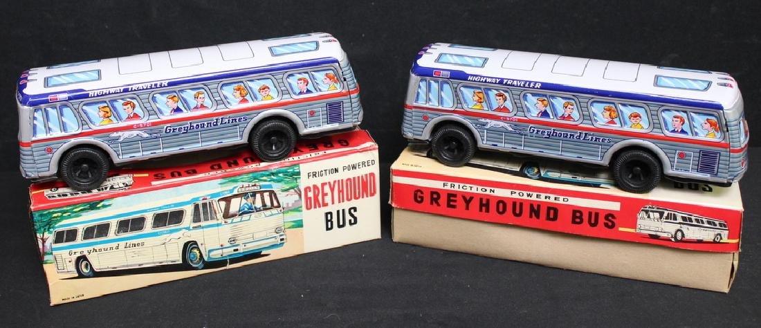 Tin Friction C5701 GREYHOUND LINES Bus