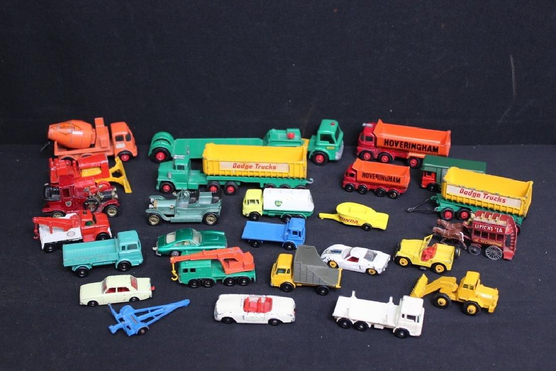 26 Vintage Die Cast Lesney & Mattel Vehicles