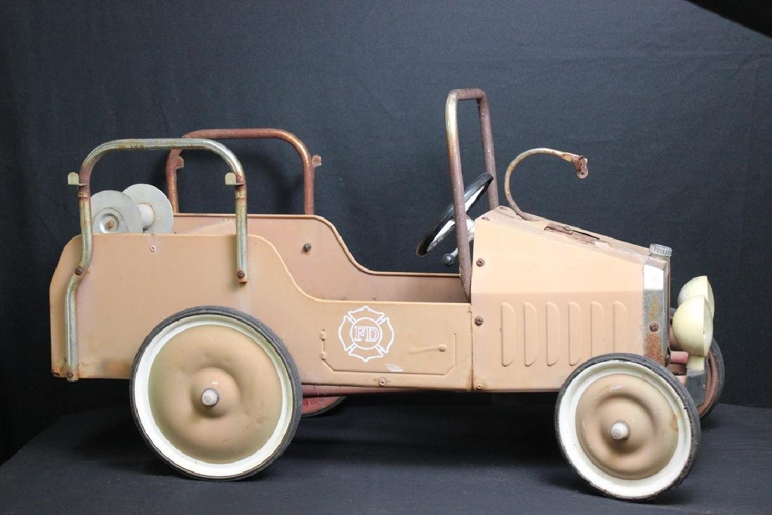 1938 Fire Truck Pedal Car