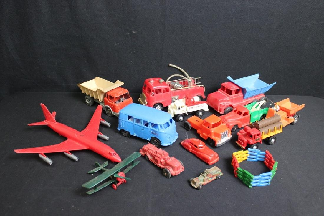 1960's-70's Plastic Vehicles