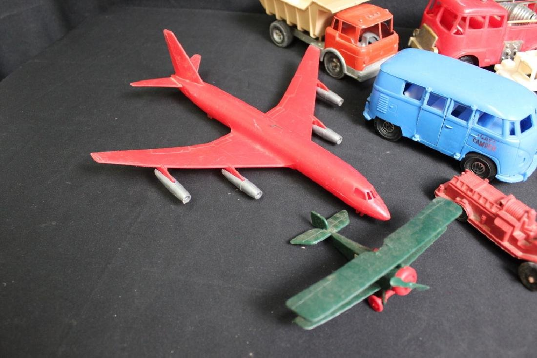 1960's-70's Plastic Vehicles - 2