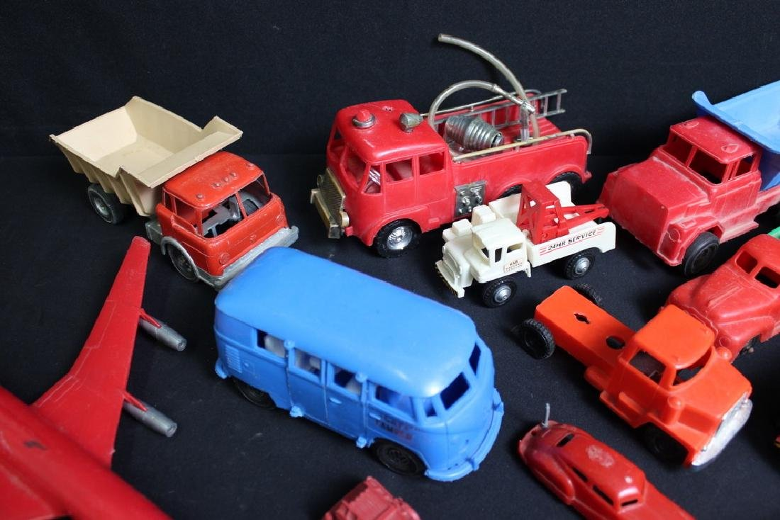 1960's-70's Plastic Vehicles - 3