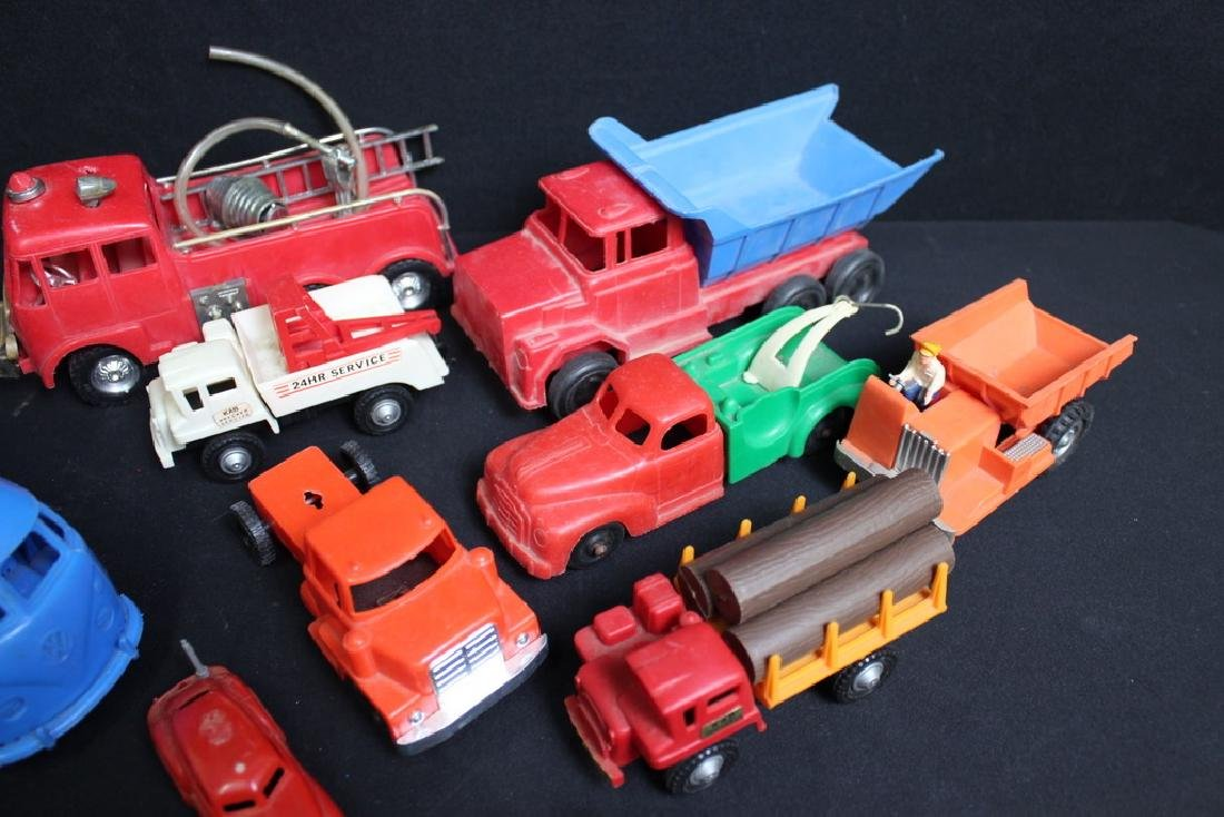 1960's-70's Plastic Vehicles - 4