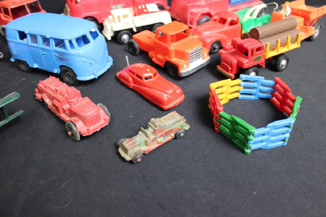 1960's-70's Plastic Vehicles - 5