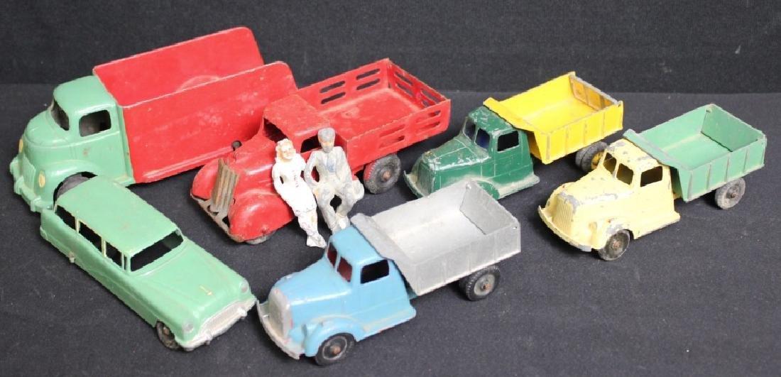 (6)1930's-50's Metal Toy Vehicles