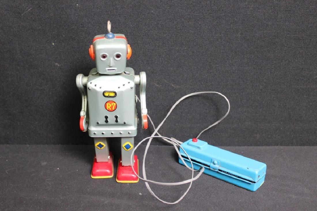 Flashing Jim R7 Robot 1950's Japan