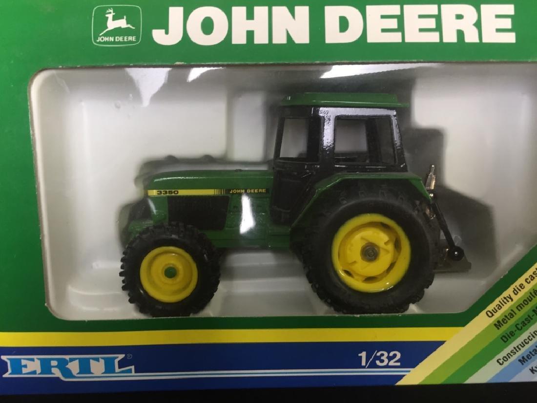 5 John Deere Die Cast Metal Farm Tractors - 2