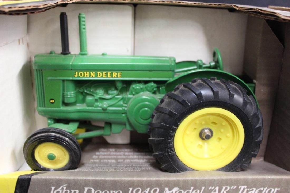 5 John Deere Die Cast Metal Farm Tractors - 4
