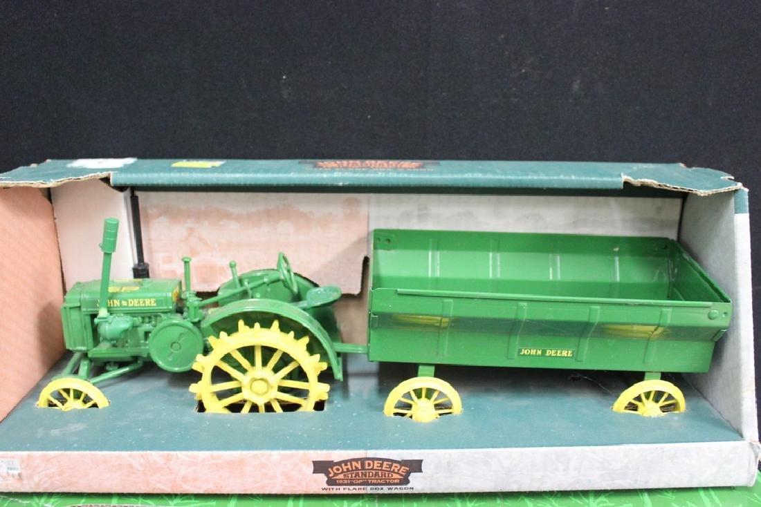 5 John Deere Die Cast Metal Farm Tractors - 6