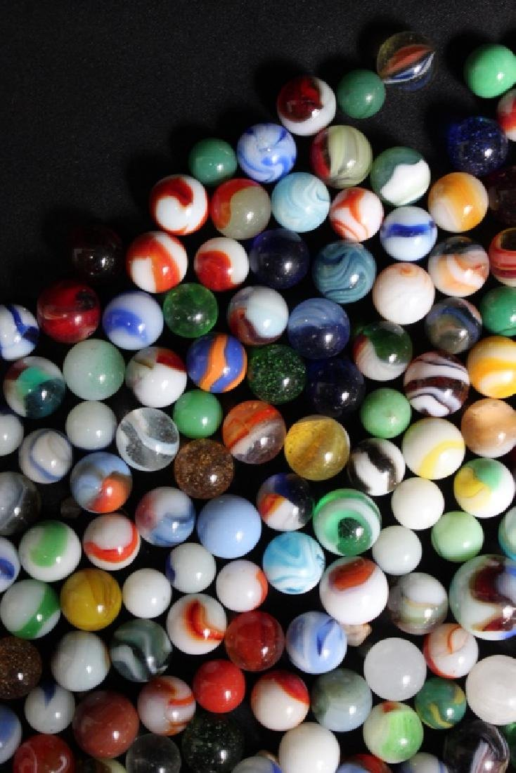 300 Vintage Glass Marbles - 3