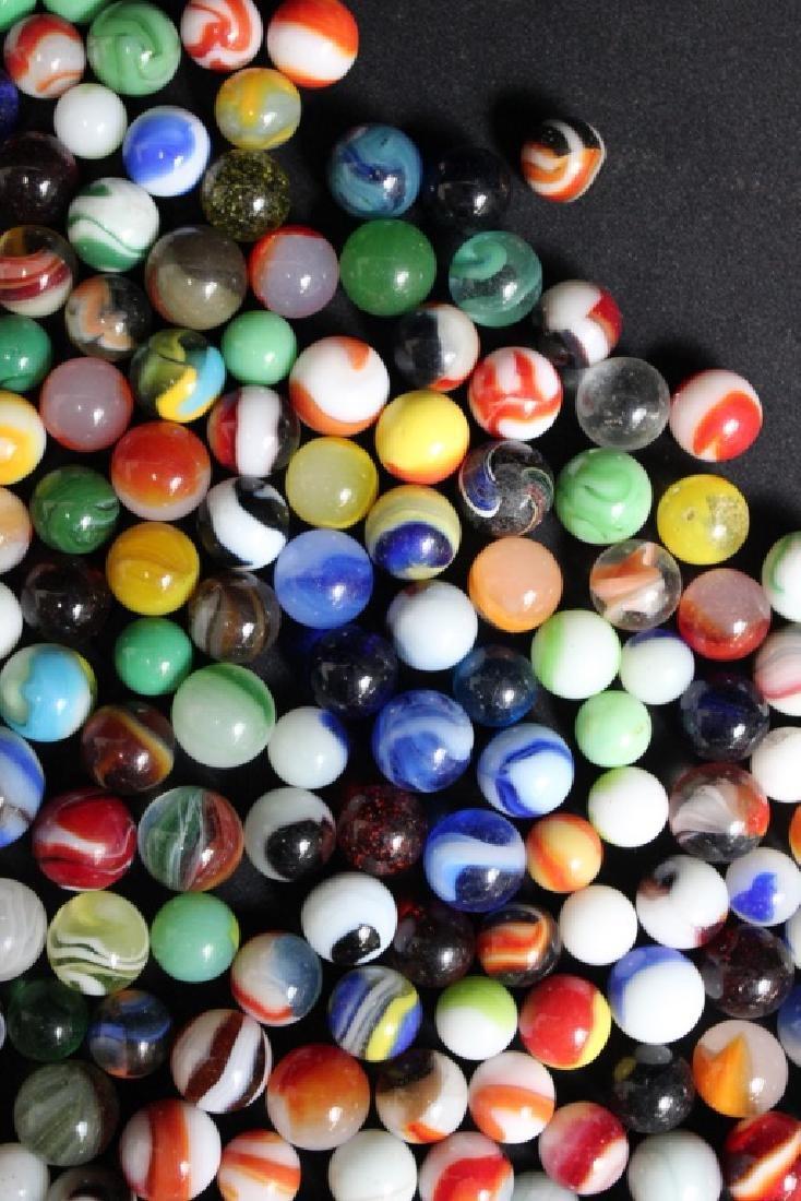 300 Vintage Glass Marbles - 4