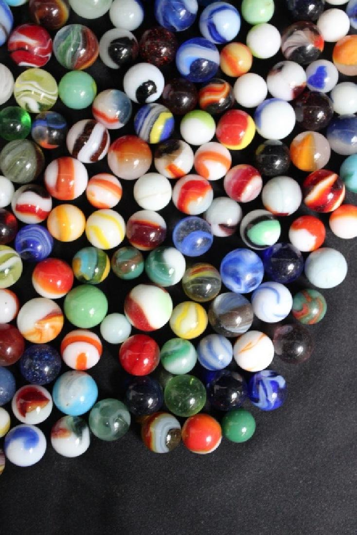 300 Vintage Glass Marbles - 5