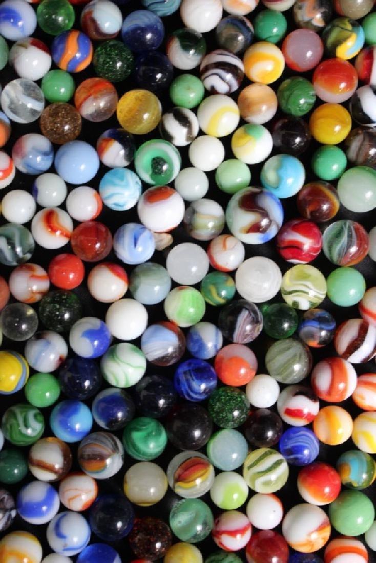 300 Vintage Glass Marbles - 6