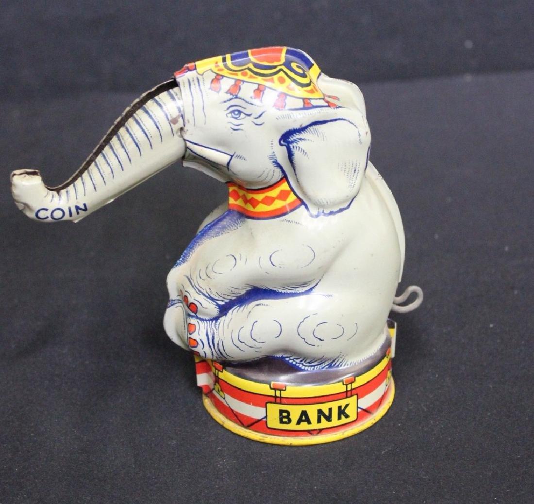 Chein Tin Litho Elephant Bank
