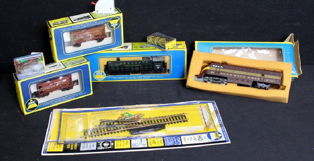 Assorted AHM HO Scale, Org. Boxes