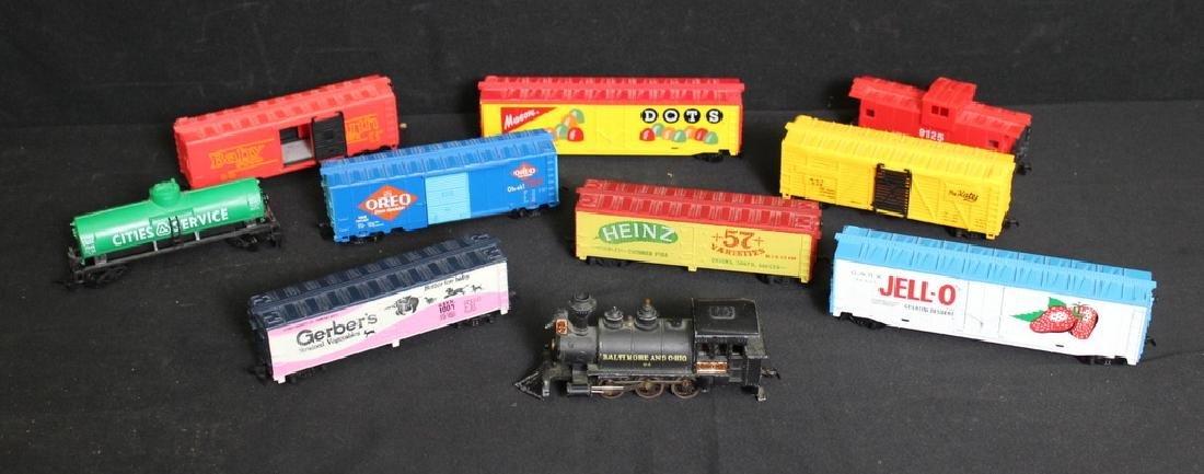 Vintage Assorted Trains