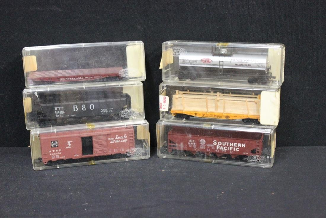 Vintage Trains in Org. Cases