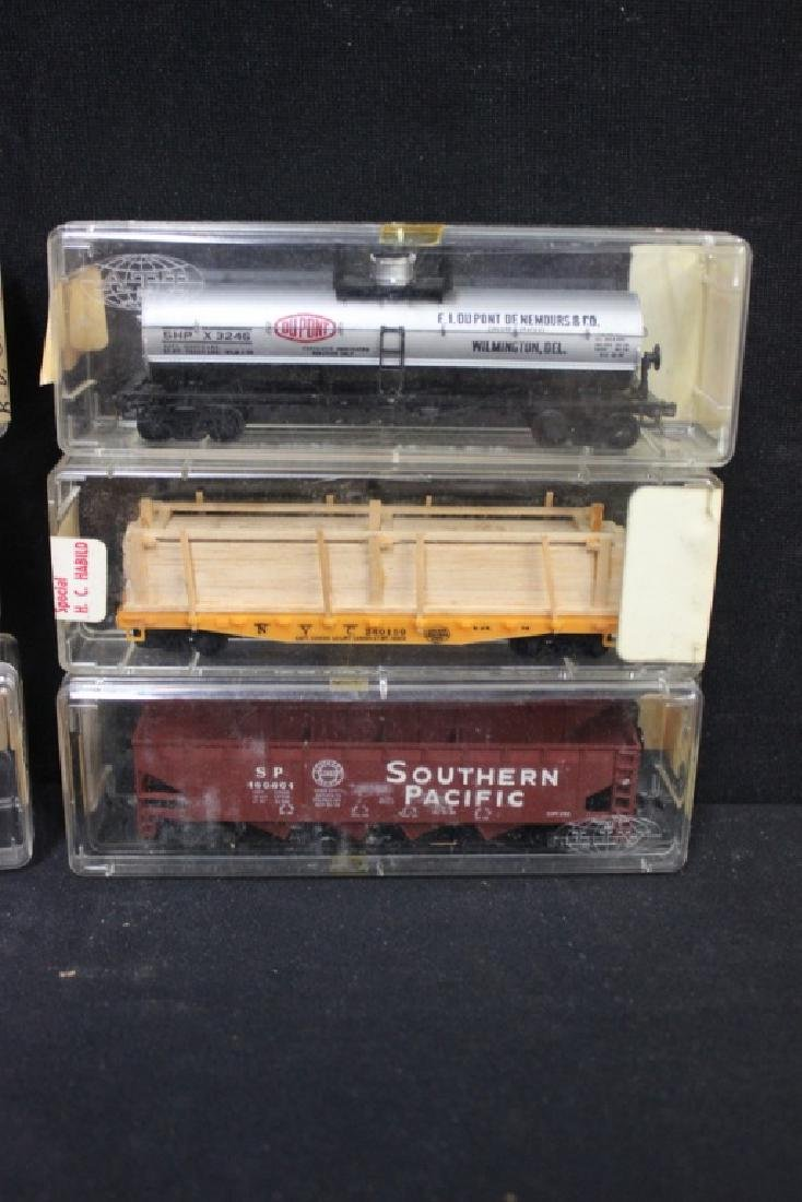 Vintage Trains in Org. Cases - 2
