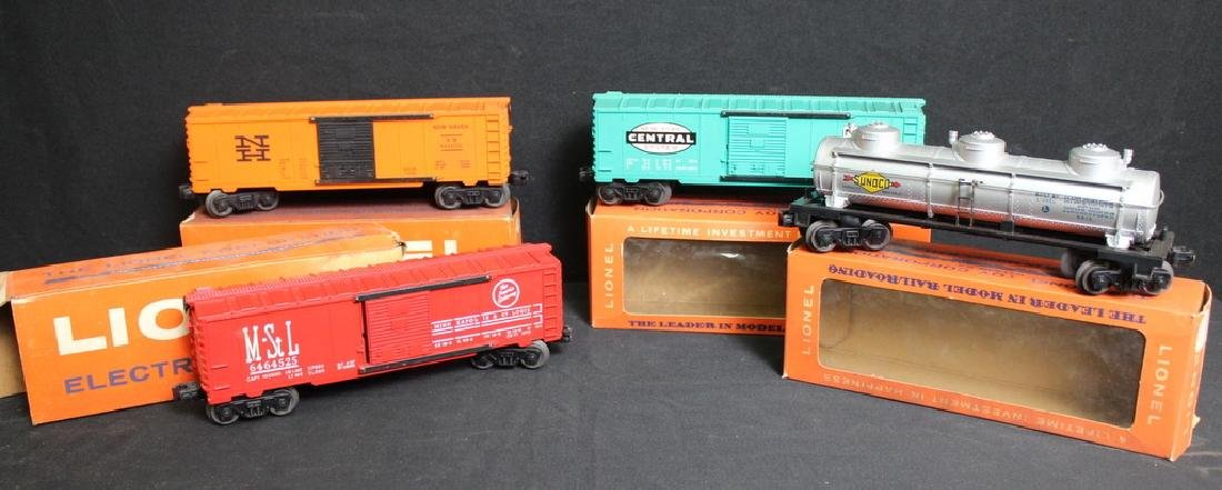 1960's Lionel Trains in Boxes