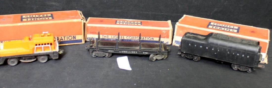 3 Vintage 1950's Lionel Trains