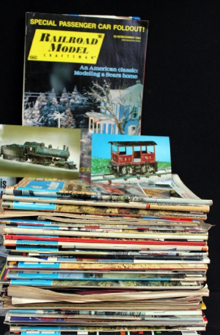 Train Magazines, Over 50 - 2