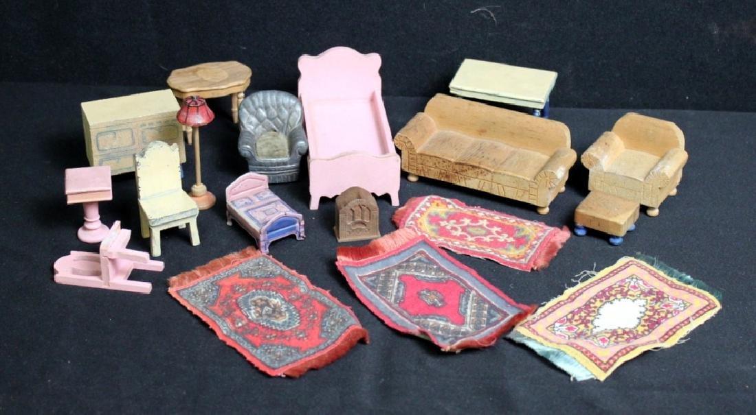 Box of Dollhouse Furniture