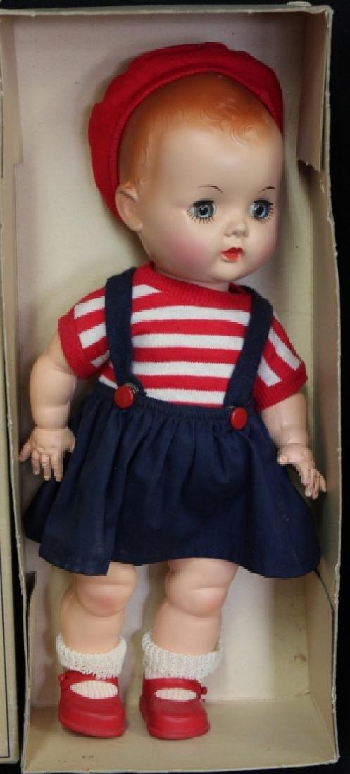 2 Vintage Hard Plastic Dolls in Org. Boxes - 2
