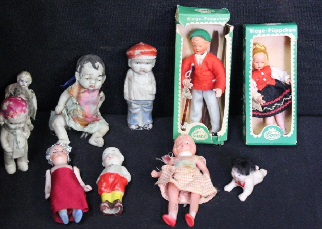 10 Dollhouse Size Dolls