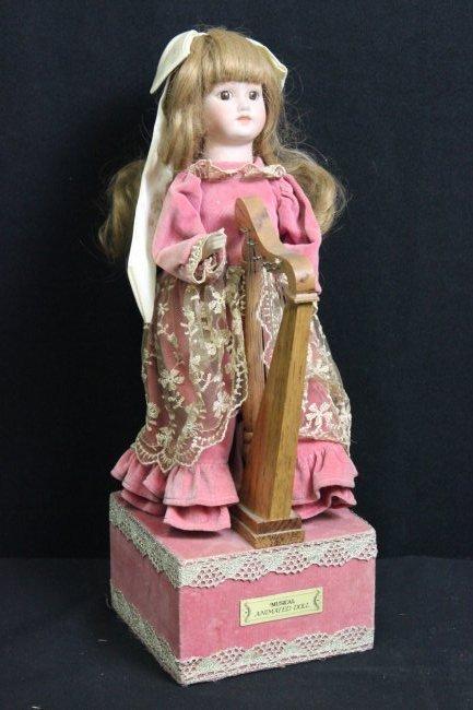 Vintage Musical Automaton Doll