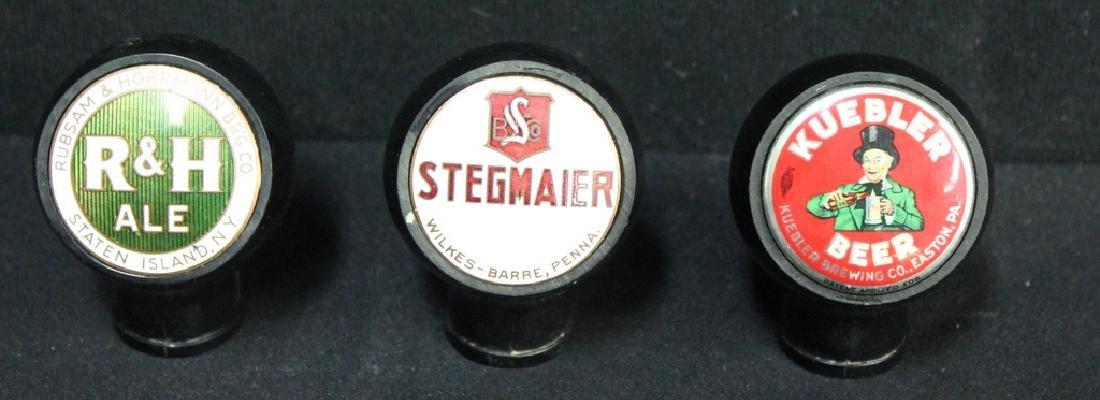 3 Vintage Beer Taps