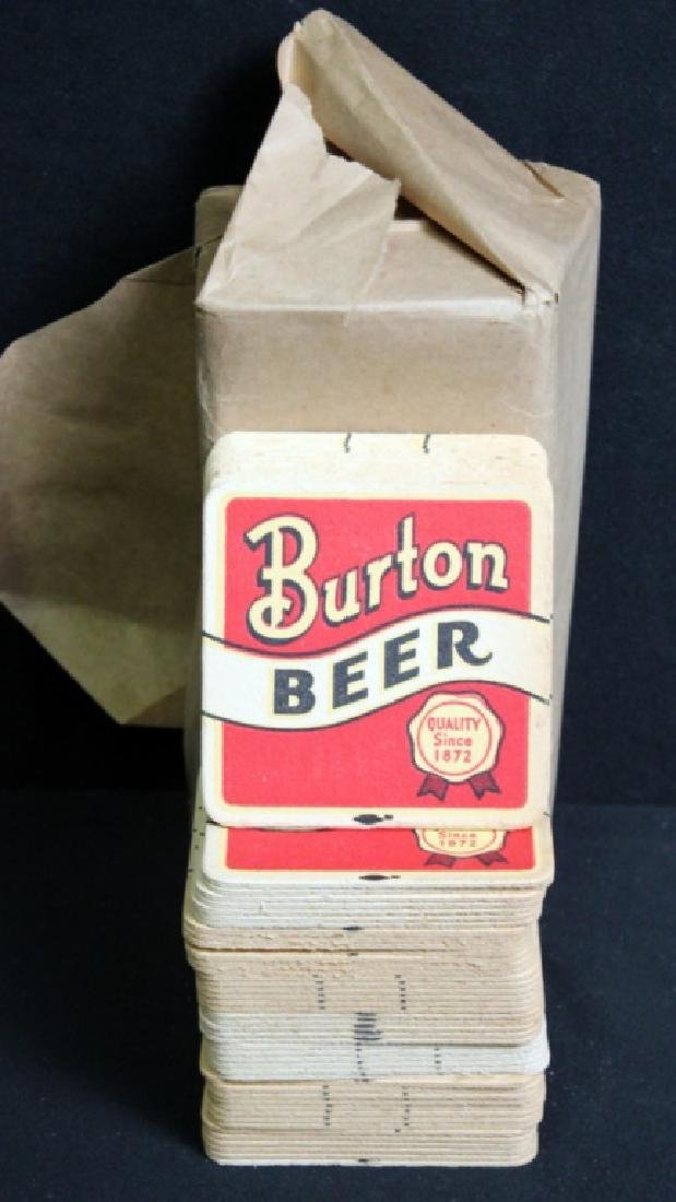 159 Burton Beer Coasters