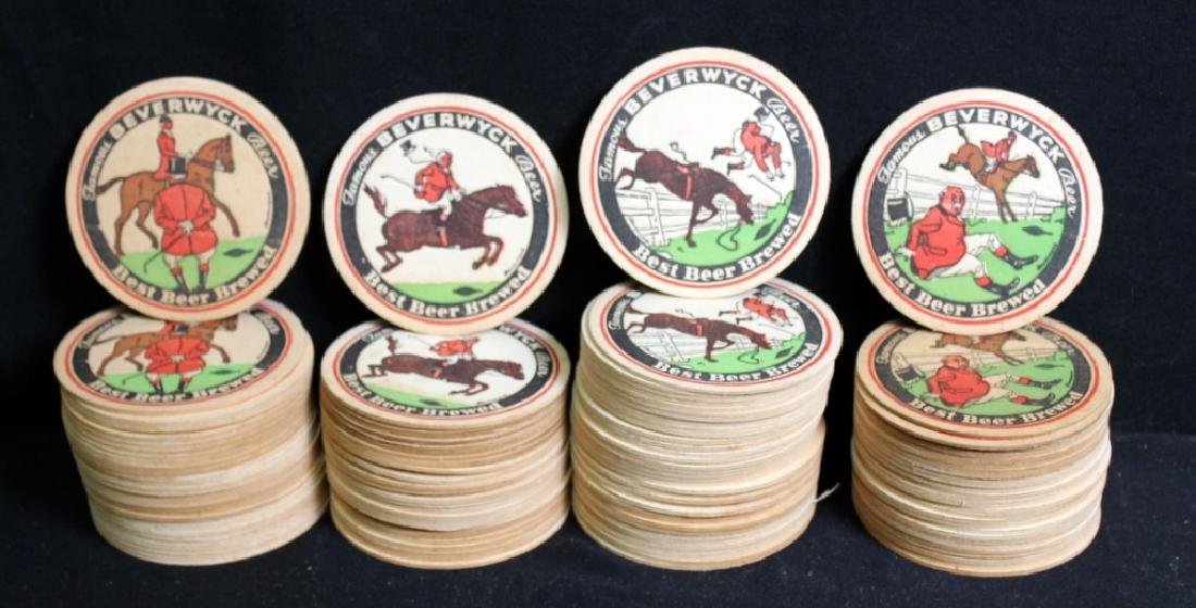 118 Beverwyck Beer Coasters