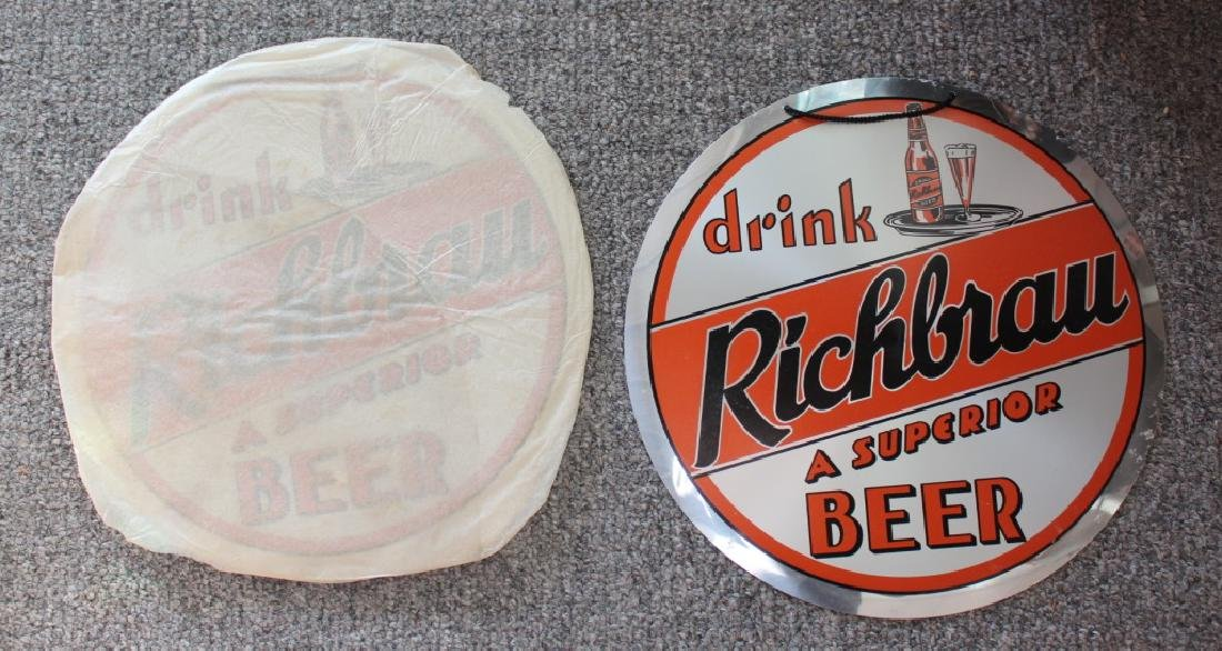 Richbrau Beer Signs