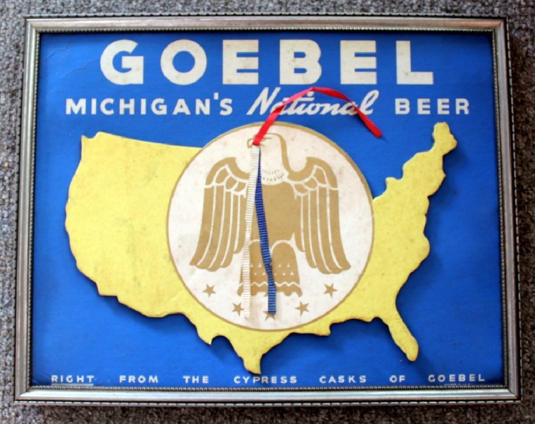 GOEBEL Beer Sign