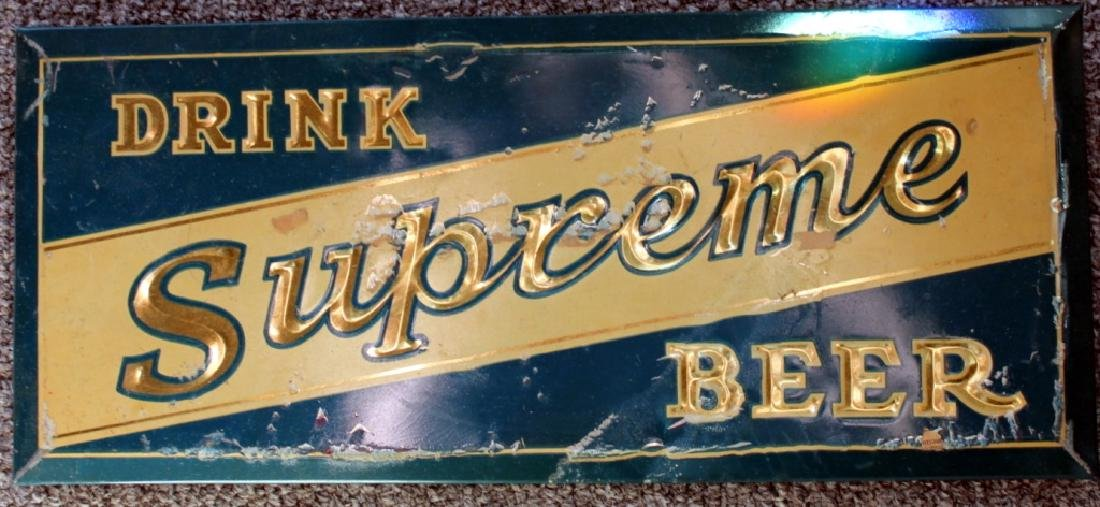 Supreme Beer Sign