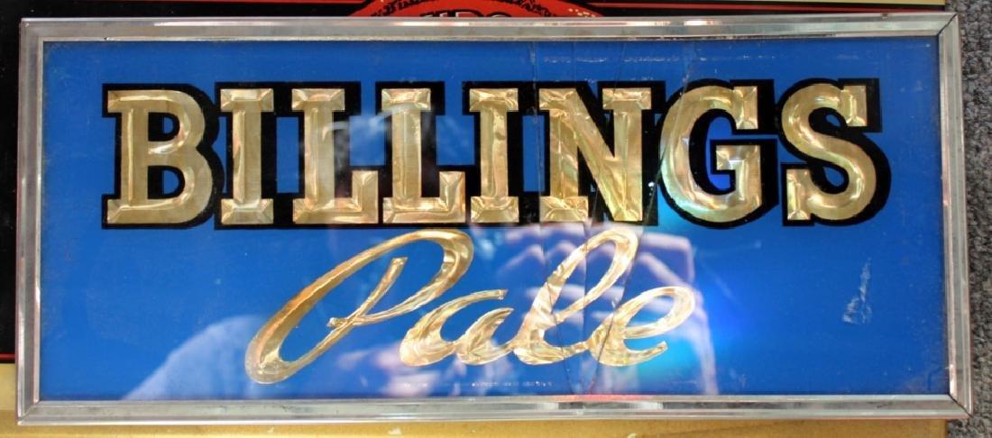 Billings Pale Beer Sign