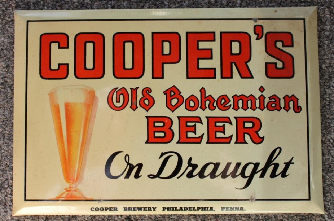 COOPERS Beer Sign