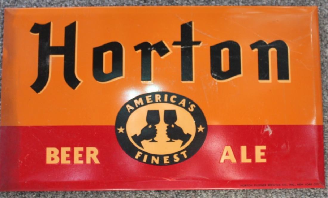 Horton Beer Sign
