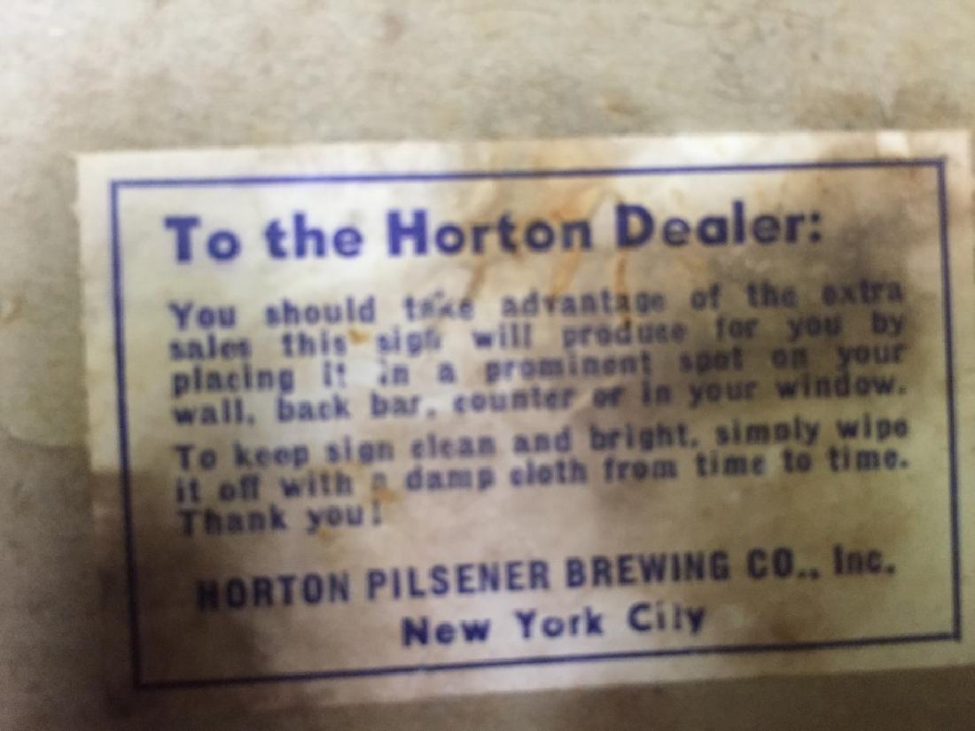 Horton Beer Sign - 3