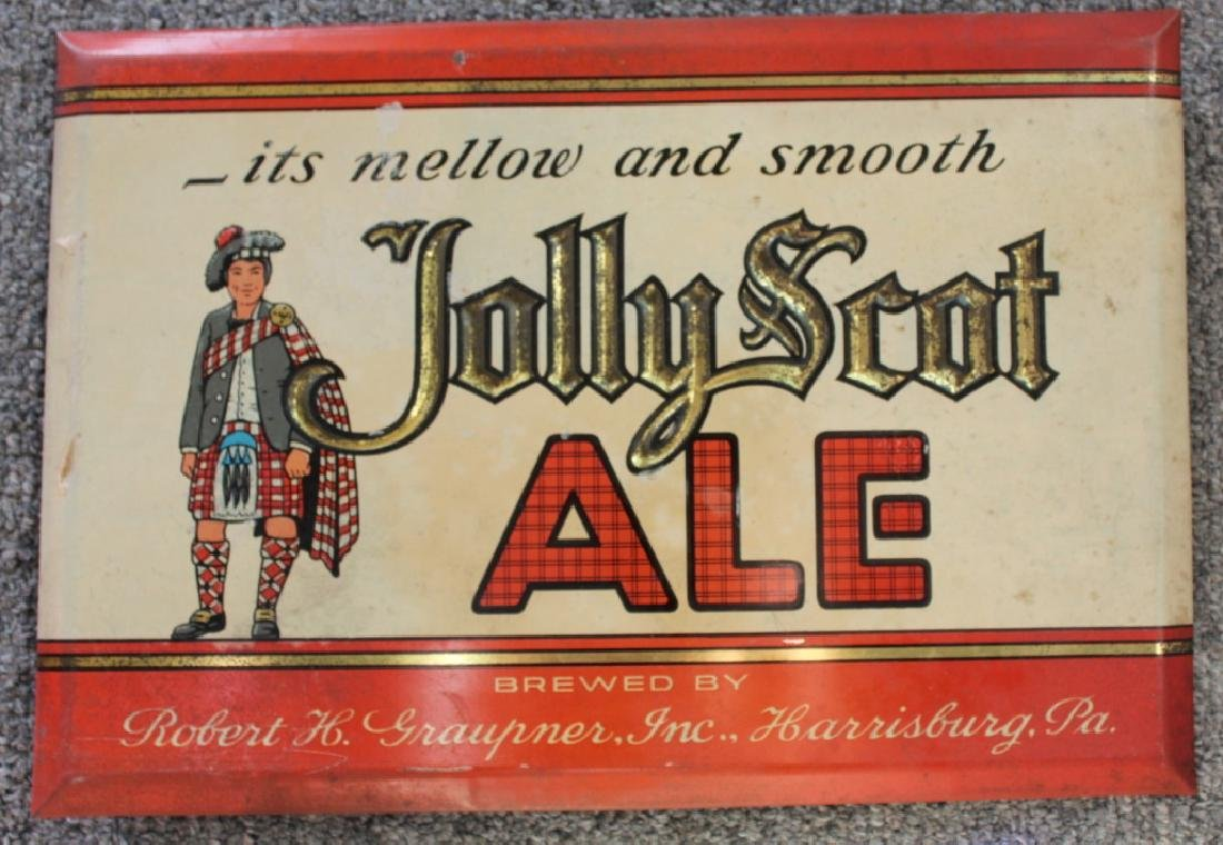 Jolly Scot Ale Sign