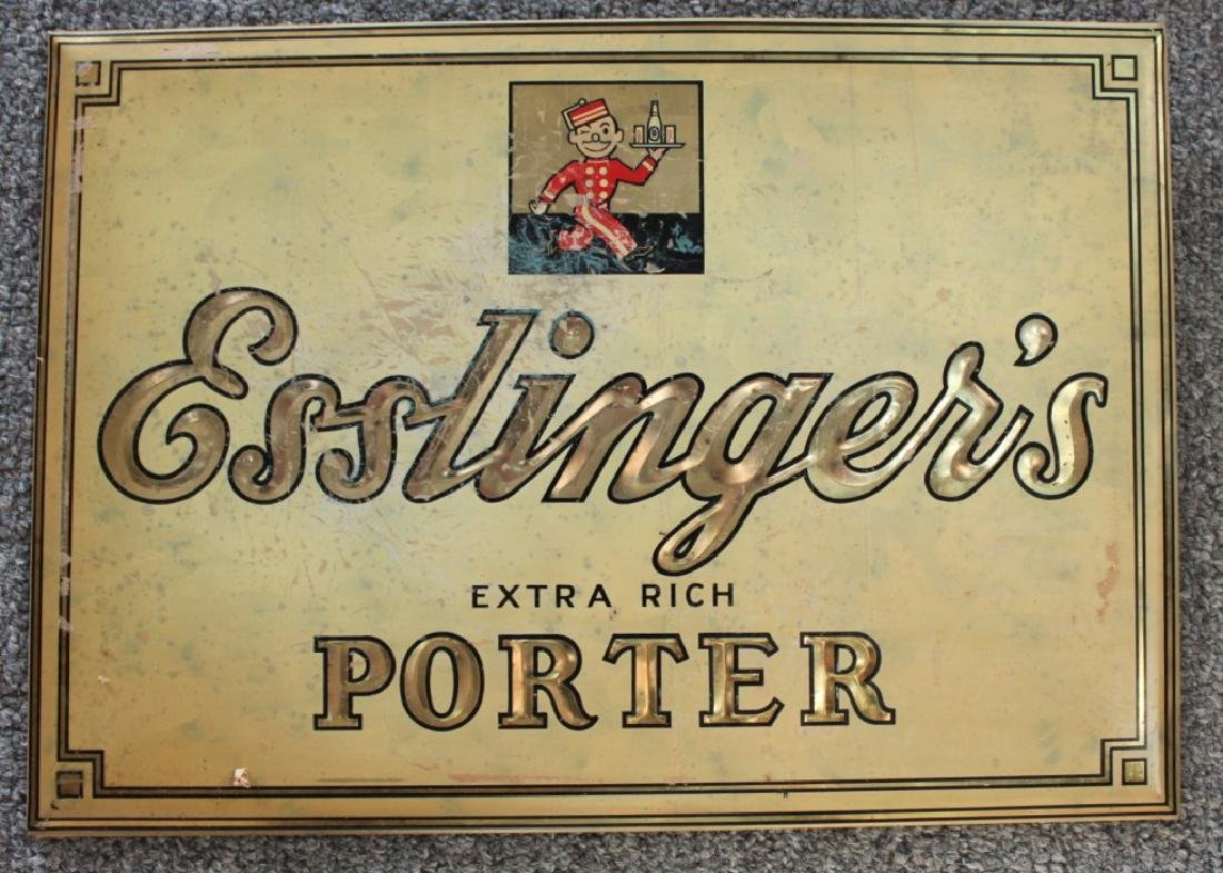 Esslinger's Beer Sign