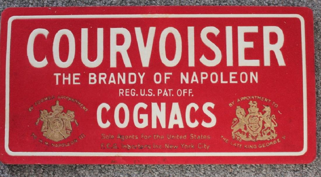 Courvousier Cognac Sign (2)