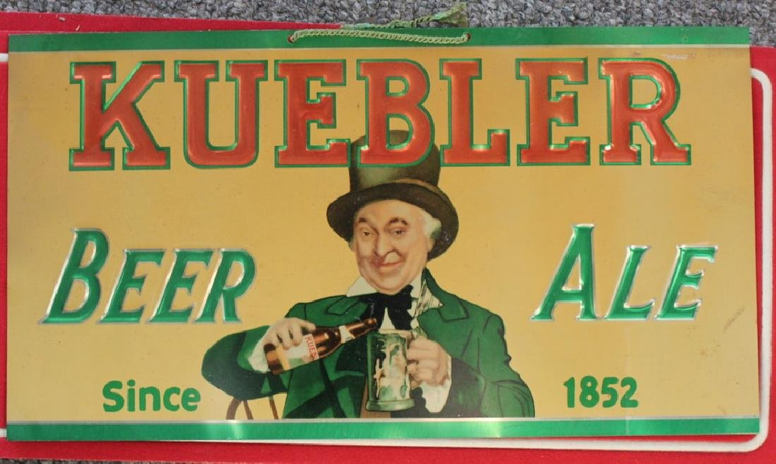 Kuebler Beer Sign