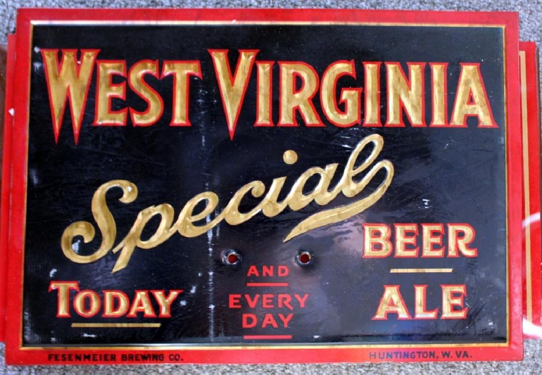 West Virginia Beer Sign