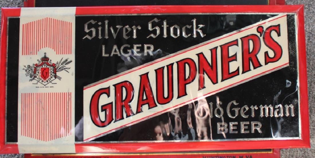 Graupner's Old Geman Beer - Sign