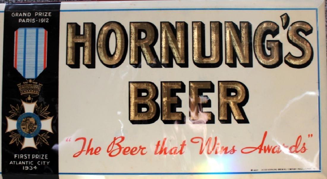 Hornung's Beer Sign