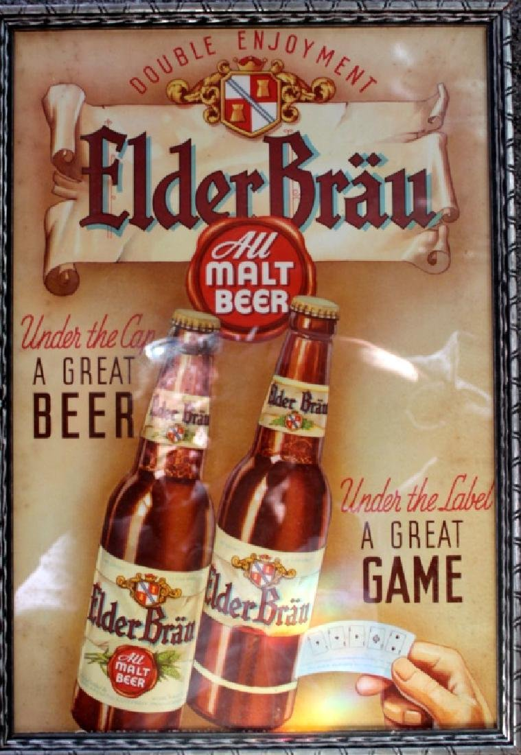 Elder Brau Beer - Sign