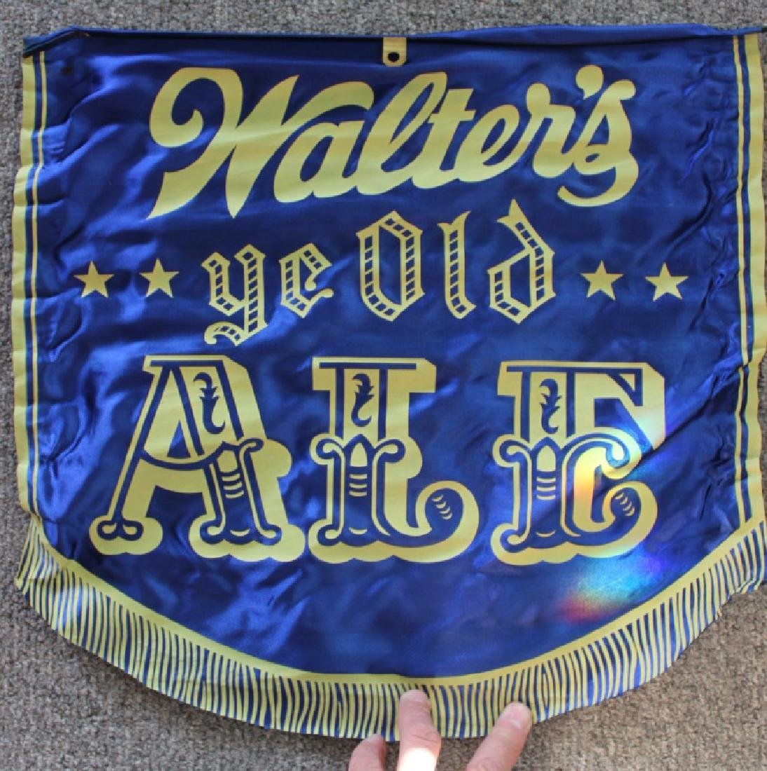 Walter's Ye Old Ale Banner